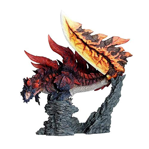 Monster Hunter World Eisfeld Figur Big Dragon Bubble Fox Dragon Extinction Drachen EIS Fluch Drachen Cut Drachen Stahl Drachen Home Decoration Statue-E