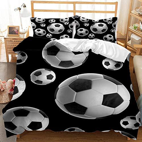Máquina De Impresión De Fútbol De Béisbol 3D Ropa De Cama Lavable, Textiles para El Hogar De Dormitorio Infantil Súper Suaves, Funda Nórdica Y Funda De Almohada De Gran Tamaño