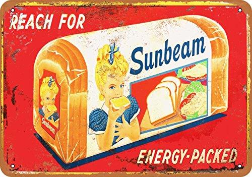 Wall-Color 7 x 10 Metal Sign - Sunbeam Bread - Vintage Look