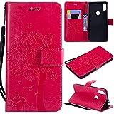 nancencen Coque Compatible avec Motorola Moto One / P30 Play - Cuir Flip Étui/Portefeuille Case...