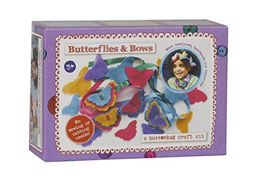Buttonbag Calendrier Papillons Kit de Couture