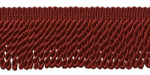 Paquete de 10 Yardas de Flecos de 2,5 Pulgadas, Estilo # EF25, Color: E13 (30 pies/9 Metros)