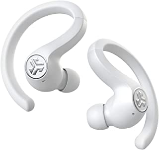 JLab Audio JBuds Air Sport True Wireless Bluetooth Earbuds + Charging Case - White - IP66 Sweat Resistance - Class 1 Bluetooth 5.0 Connection - 3 EQ Sound Settings JLab Signature, Balanced, Bass Boost