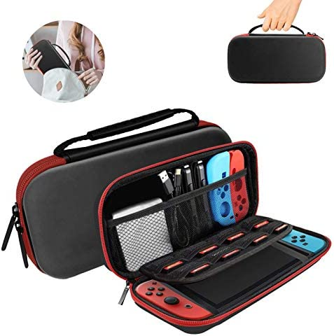 Carry Case for Nintendo Switch Lite 2019 HONEST KIN Protective Hard Portable Travel Bag Switch product image