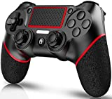 ELYCO Mando nalambrico para PS4, Wireless Controlador Joystick De Juegos Inalámbrico Bluetooth Joypad Gamepad Remoto Joystick, Controller Gamepad Mini-LED para Playstation 4 / Pro/Slim / PS3