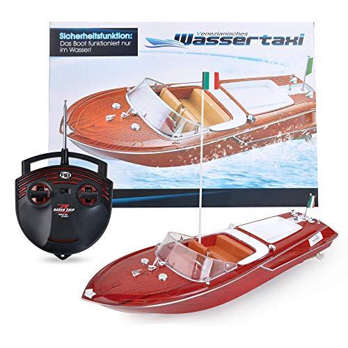 Maximum RC | Motorboot in toller Holzoptik | Ferngesteuertes Boot für Kinder | einfachste Steuerung*