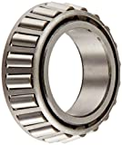 Timken 13687 Tapered Roller Bearing, Single Cone, Standard Tolerance, Straight Bore, Steel...