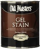 Old Masters 182305 81804 Gel Stain American Walnut Oil-Based