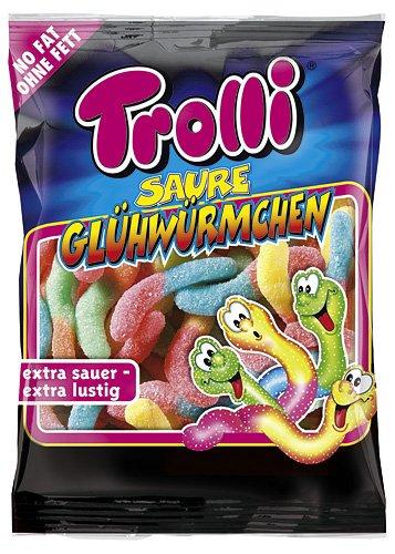 Trolli Glüh-Würmchen, 6er Pack (6 x 200 g Beutel)