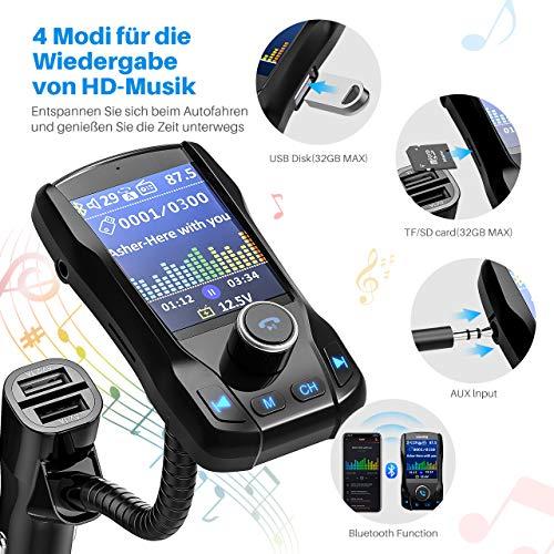 Omorc Bluetooth FM Transmitter - 6