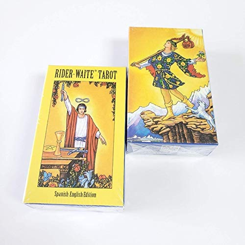 YOYOTECH Versión en español Carta del Tarot Caballero español Tarot Misterioso Solitario Mágico Brujería Un Juego de Mesa para la adivinación del Destino