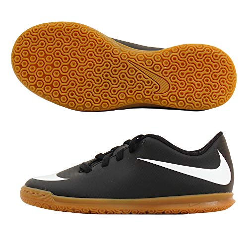 Nike Bravatax II C, Zapatillas de Fútbol Unisex Adulto, Negro (Black/White-Black 001), 37.5 EU