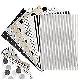 160hojas Papel de Seda para Scrapbooking 14×21cm Papel de Seda Estampado A5 para Álbumes de Recortes Regalo Decoración Manualidades DIY