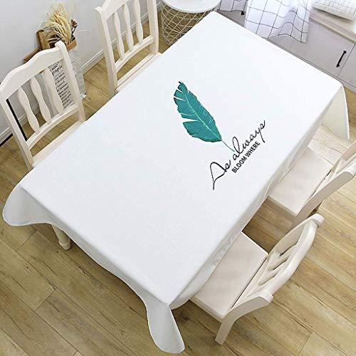XHNXHN Mantel rectangular cuadrado plegable impermeable para mesa de comedor (B,85 x 85 cm)