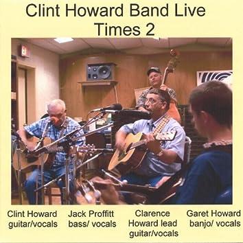 Clint Howard Band Live Times 2
