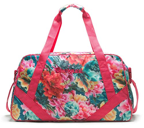 Desigual Tropic Carry Shoulder Bag Turquesa