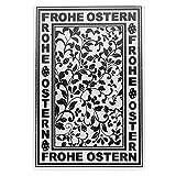 Prägeschablone   Frohe Ostern 1   14,5 cm x 9,5 cm   passend für gängige Präge- und Stanzmaschinen