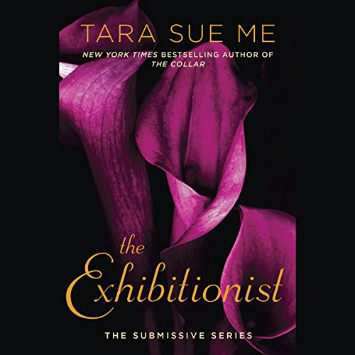 The Exhibitionist audiobook cover art