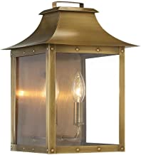 Acclaim 8414AB Wall Lantern, Brass