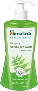 Himalaya Purifying Face Wash, 400 ml (Neem)