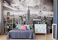 街のスカイラインエンパイアステートニューヨークの写真の壁紙壁の壁画-120x100CM