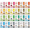 24-Count Dermal Collagen Essence Full Face Facial Mask Sheet