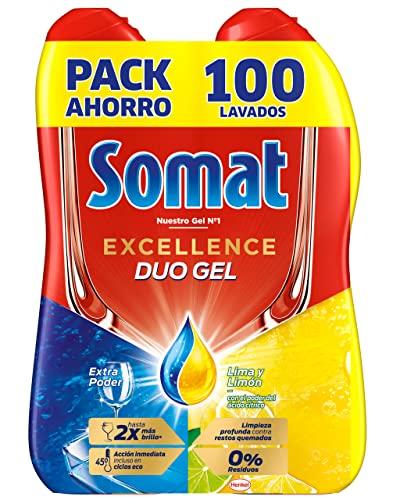 Somat Oro Gel Detergente Lavavajillas Limón - 100 Lavados (1.8 l)