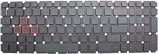 Acer Nitro 5 AN515-41 AN515-42 AN515 AN515-51 AN515-52 AN515-53 N16C7 N17c1 AN515-51-705 ラップトップバックライトキーボードレッド