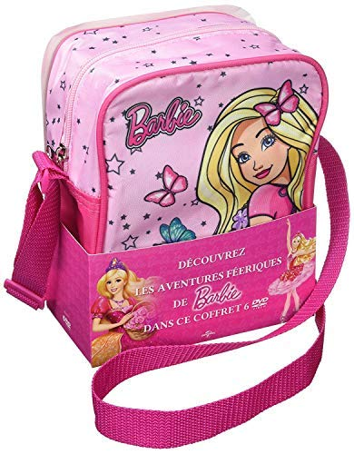 Barbie Princess Collection - 6-DVD Backpack Boxset ( Barbie in the Pink Shoes / Barbie in the Nutcracker / Barbie and the Magic of Pegasus / [ Origine Francese, Nessuna Lingua Italiana ]