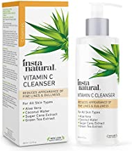 Facial Cleanser - Vitamin C Face Wash - Breakout & Blemish, Wrinkle Reducing, Exfoliating Gel - Clear Pores on Oily, Dry & Sensitive Skin with Organic & Natural Ingredients - 6.7 oz
