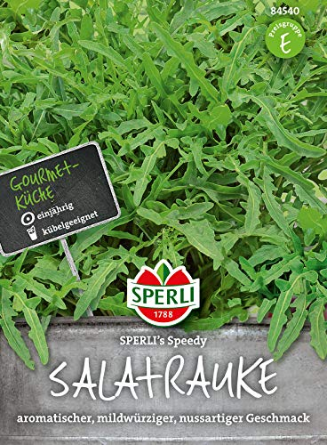 84540 Sperli Premium Rucola Samen Speedy | wilde Rauke Samen | Rucola Saatgut | Rukola Samen | wilde Rauke Saatgut