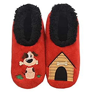Cute dog house slippers