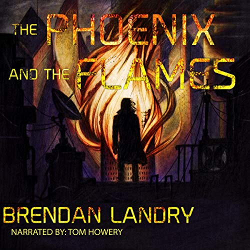 The Phoenix and the Flames audiobook cover art