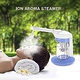 Ustensile vapeur portable pour le visage - Vapeur d'ozone - Inhalateur de sauna et spa - Utilisation domestique - Aromathérapie