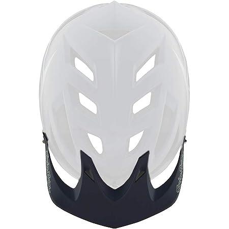 Troy Lee Designs A2 Helmet Replacement Visor//Peak Black//White