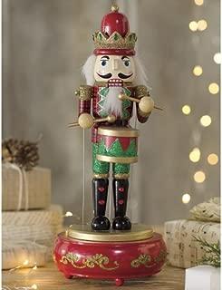 Wooden Musical Nutcracker Statue