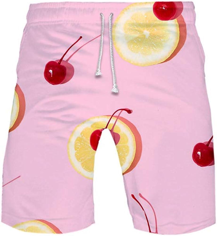 URVIP Child Fruits 3D Swim Trunks Board Shorts Columbus Mall Bath supreme Summer Beach
