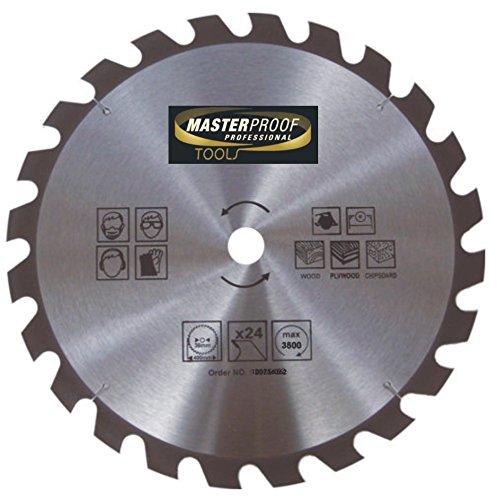 Cirkelzaagblad 400 x 2,2 mm 24 tanden hout spaanplaat multiplex hand tafel cirkelzaag