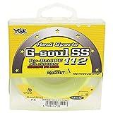 YGK G-Soul SS 112 - Hilo trenzado, color amarillo (Japón)