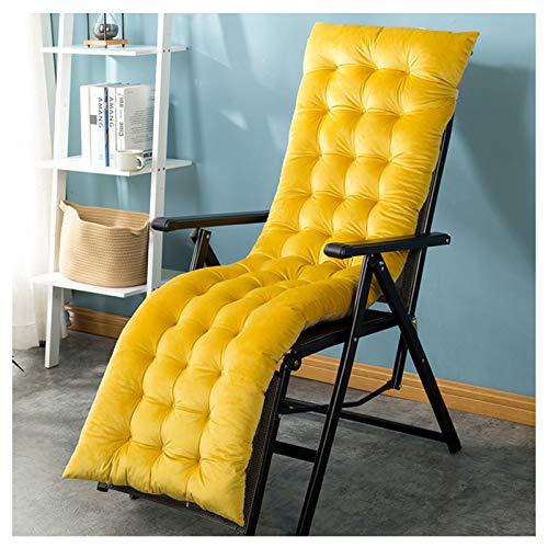 Auflagen für Gartenliegen, verdicken Faltbare Schaukelstuhl Kissen Long Chair Couch Sitzkissen Pads Garden Lounger Mat, 160 * 50 * 8CM