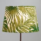 Jungle Print Cotton Accent Lamp Shade | World Market