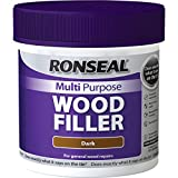 Ronseal MPWFD465 465 g Multi-Purpose Wood Filler Tub - Dark