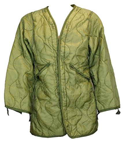 Genuine Issue US GI Night Desert Parka Liner, (Large)