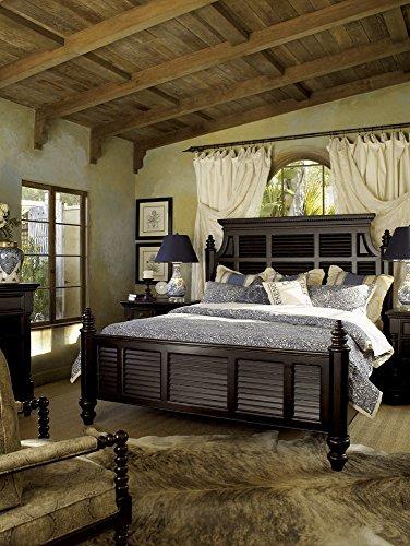 Tommy Bahama Home Kingstown Malabar Panel Bed in Tamarind-King - King