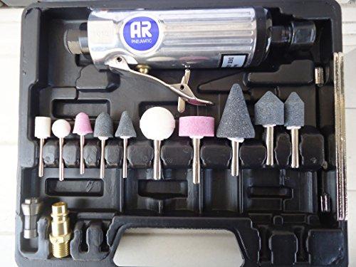 Kit Mini amoladora recta neumática 20000 r.p.m.
