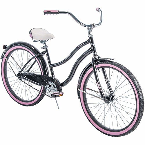 Best Review Of Huffy 26 Cranbrook Women's Cruiser Bike with Perfect Fit Frame, Black