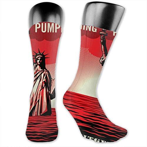 LanDu Calcetines Smashing Pumpkins para hombres y mujeres. Calcetines deportivos, medias de enfermera deportivas para correr