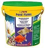SERA Mangime per pesci flakes pond lt. 10 - Accessori per laghetti