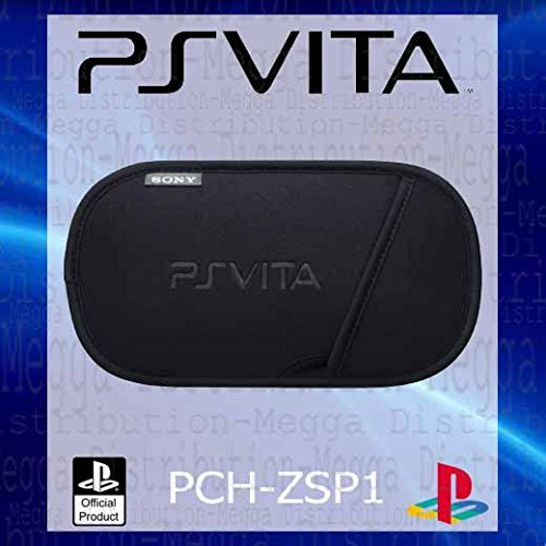 Official Sony PS Vita Slim Dust + Scratch Proof Neoprene Carry Case/Slip Pouch for 1st Generation Console - OEM Packed (No Retail Packaging)
