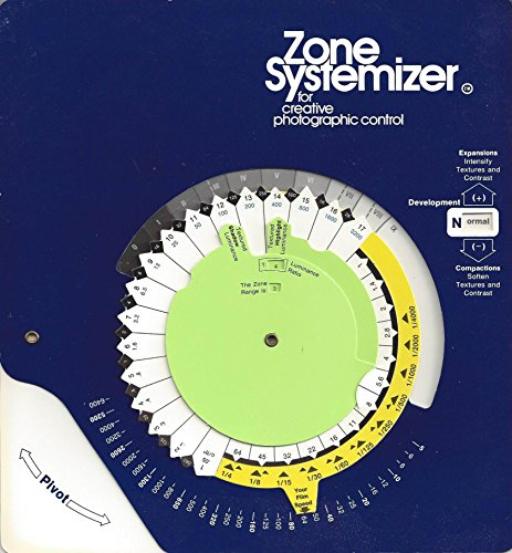Zone Systemizer for Creative Photographic Control (Dial&Book)